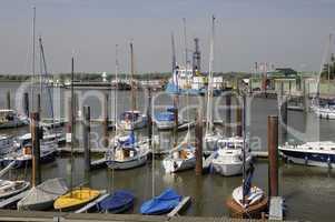 außenhafen in glückstadt