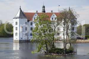 Wasserschloss in Glücksburg, Schleswig-Holstein, Deutschland