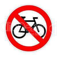 No bikesign