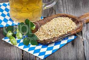 Bier, Hopfen und Getreide