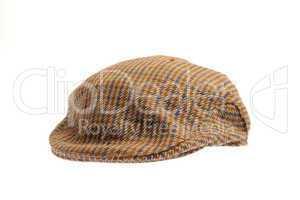 wool tweed gentlemen's cap
