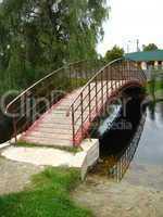 the nice bridge across river