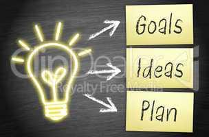 Goals - Ideas - Plan