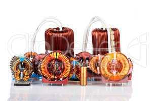 Auswahl verschiedener Ringkerndrosseln