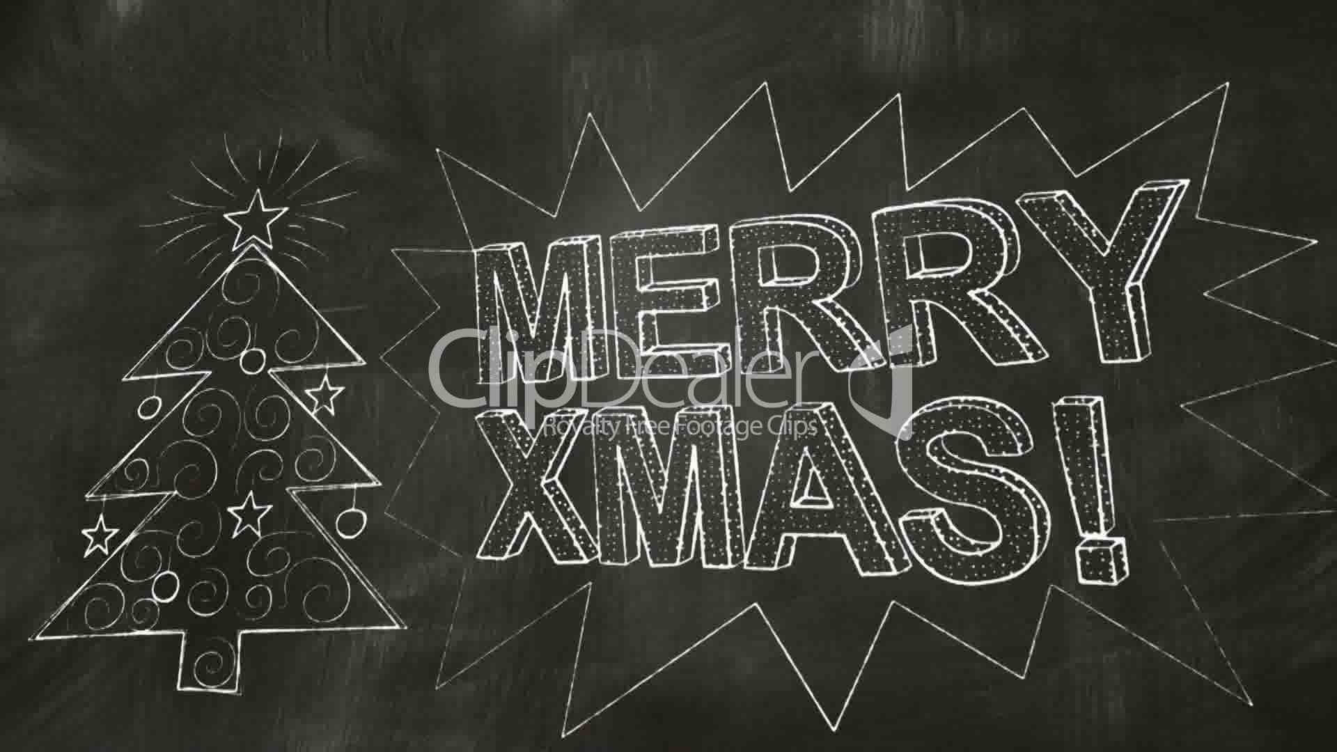 Drawing merry christmas greetings on blackboard royalty free video drawing merry christmas greetings on blackboard royalty free video and stock footage m4hsunfo