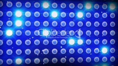 blue lighting bulbs loop