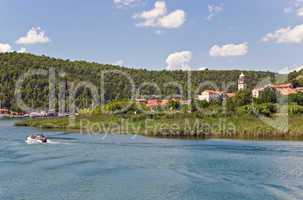 Skradin, Natikonalpark Krka, Kroatien