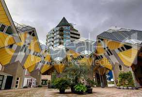 Cubic houses Rotterdam Holland