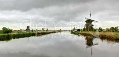 Holland mills panorama