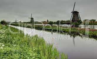 Holland mills landscape