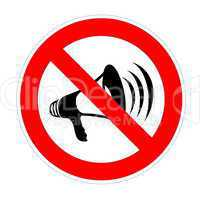 no noise allowed