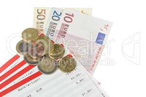 pass sheets with european currency