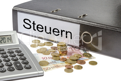 steuern binder calculator and currency