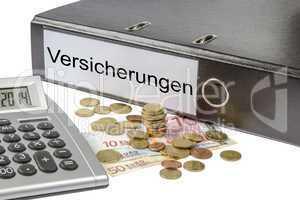 versicherungen binder calculator and currency