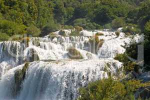 Natikonalpark Krka, Wasserfall, Kroatien