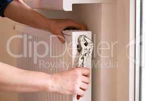 klempner und radiator