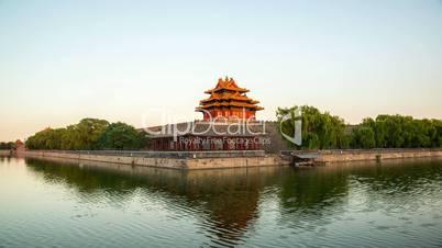 turret of forbidden city,beijing