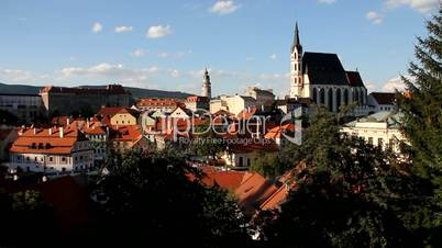Stadpanorama Český Krumlov, UNESCO-Welterbe