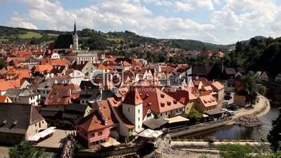 UNESCO-Welterbe Český Krumlov in Böhmen