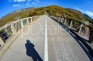 bridge over the tara river