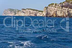 Steilküste, Felsenküste, Kroatien