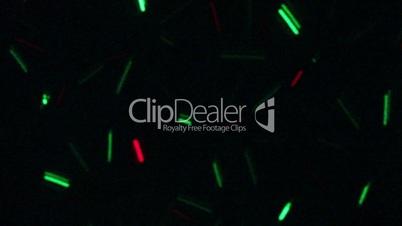 motion lights loop background
