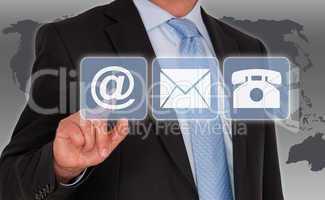 Kontakt aufnehmen - Contact us