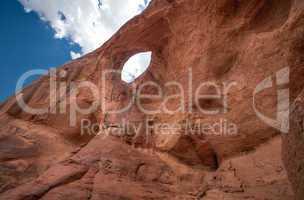 monument valley eye