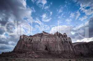 monument valley big rock horizontal