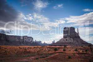 typical monument valley