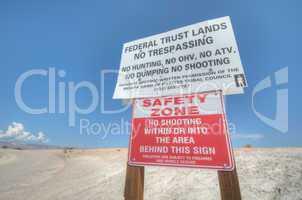 safety zone desert