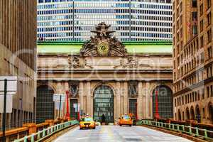 grand central terminal viaduc in new york
