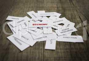economy concept