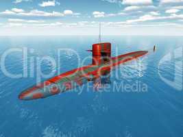 Amerikanisches Atom-U-Boot