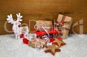 weihnachten karte schnee advent