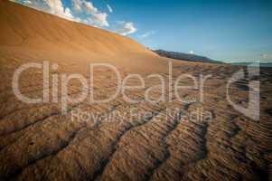 wave sand dune death valley
