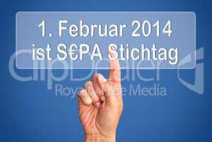 SEPA Stichtag