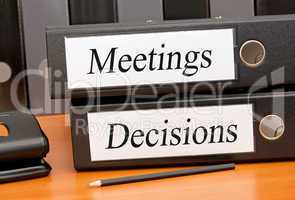 Meetings and Decisions