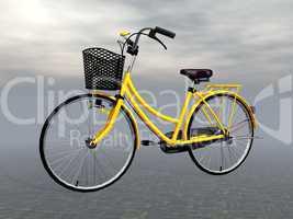 city bike - 3d render