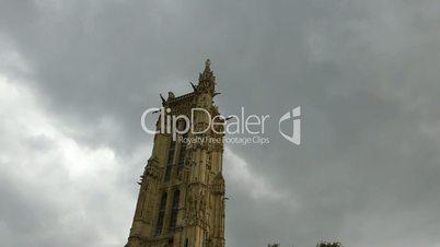 Bell tower of Saint Germain l'Auxerrois, Paris(PARIS St Germain l'Auxerrois 1b)