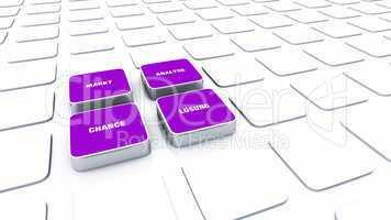 Pad Konzept Violett - Markt Analyse Chance Lösung 2