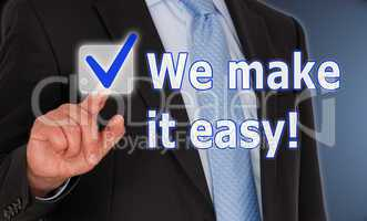 We make it easy !
