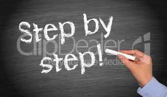 Step by step !