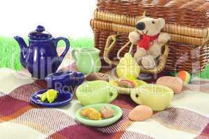 picknick mit korb