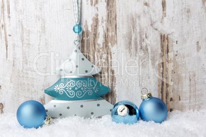 weihnachten dekoration mit holzhintergrund schnee und. Black Bedroom Furniture Sets. Home Design Ideas