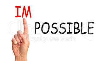 possible instead impossible