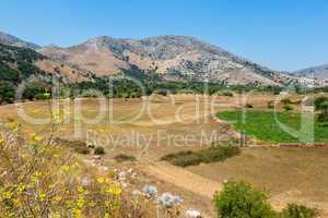 Lasithi Plateau. Crete, Greece
