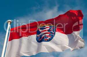 Landesflagge Hessen