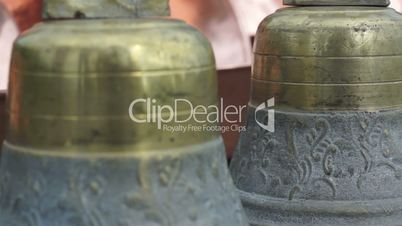 Decorative Brass Bells Dolly