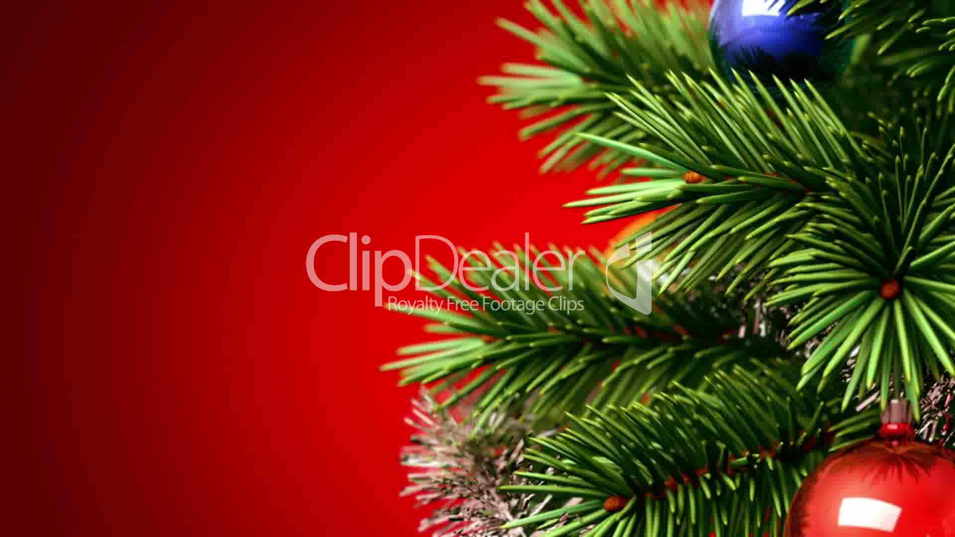 Clips Beautiful Christmas Tree
